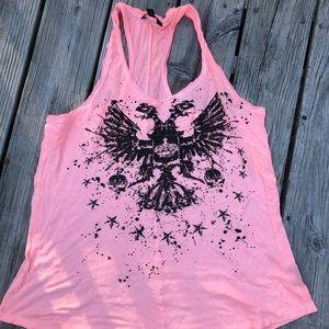 Pink rock shirt